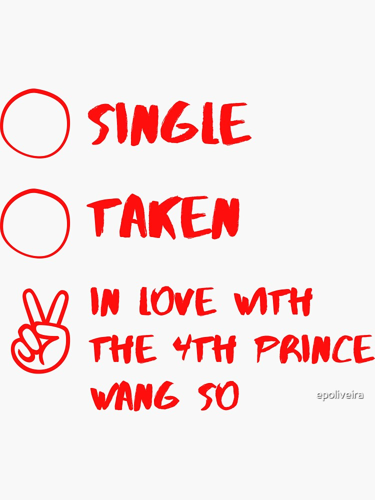 Single Taken In love with the 4th prince Wang So Funny by epoliveira