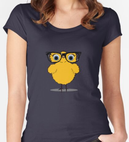 Geek Chic Chick Women's Fitted Scoop T-Shirt