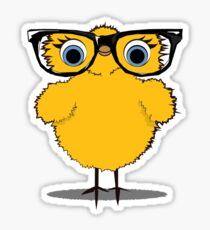 Geek Chic Chick Sticker