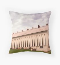 Amish Tobacco Barn in Lancaster Co Throw Pillow