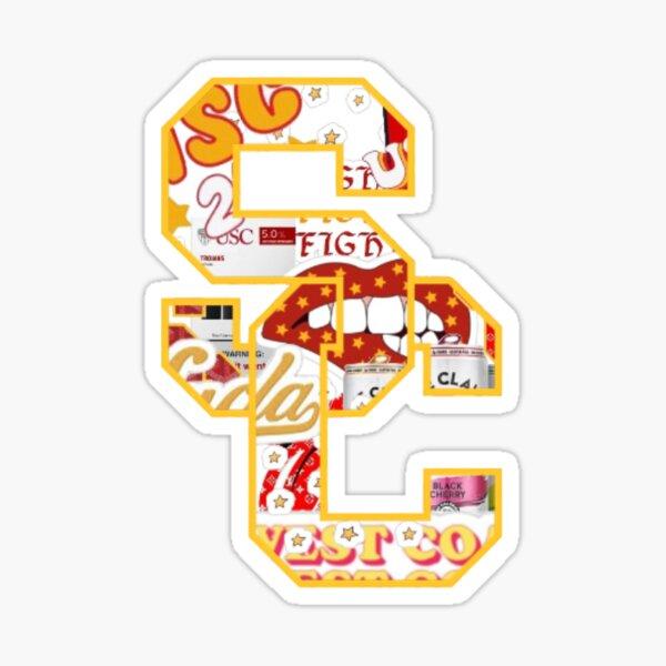USC Collage Logo Sticker