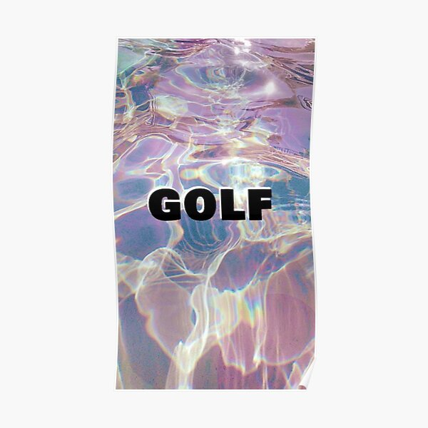 Golf Holographic Poster