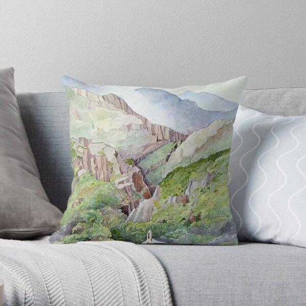 Beddgelert Throw Pillow
