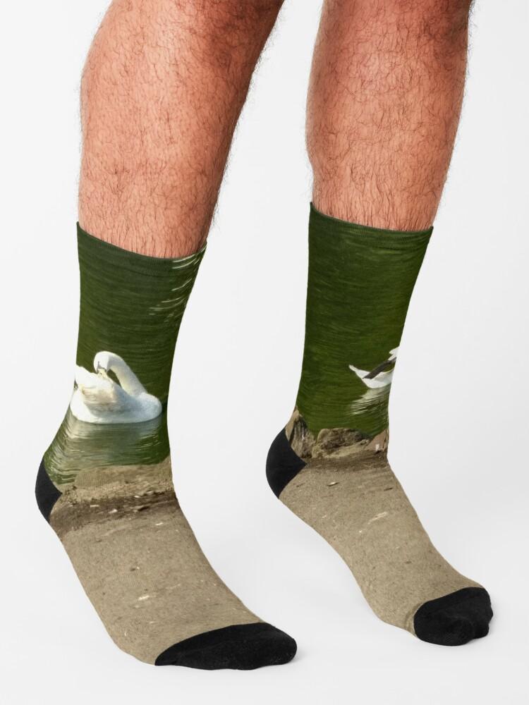 Alternate view of M.I. #43  ☼  Swan - Shot 1 (Pearson Park) Socks