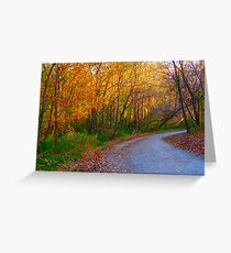 Guidepost stationery redbubble a fiery guidepost greeting card m4hsunfo