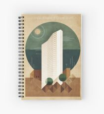 Alpha Tower Spiral Notebook