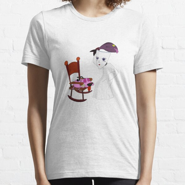 Courage The Cowardly Dog Hit By The Mask Essential T-Shirt
