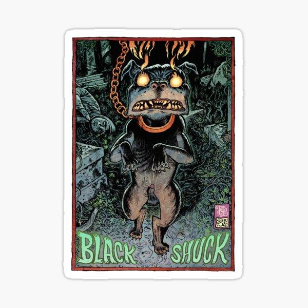 Black Shuck Sticker