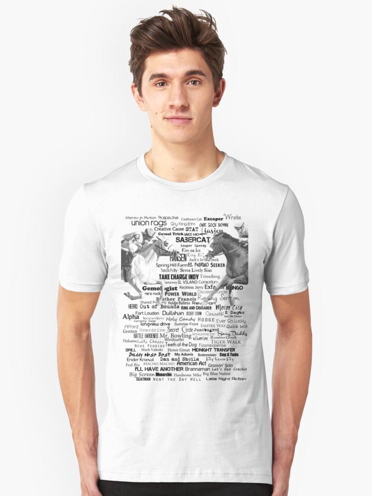 2012 Kentucky Derby Hopefuls Unisex T-Shirt Front