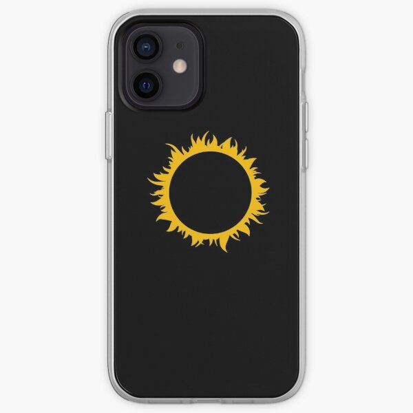 Kyo Kusanagi KOF - Sun Icon iPhone Soft Case