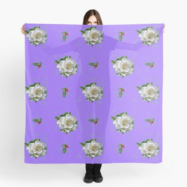 pálido lila Funda de Cojín peso ligero algodón púrpura Floral malva Flores.