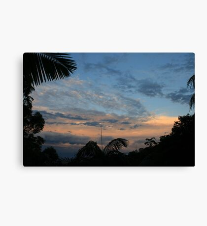 Dusk To The East Canvas Print