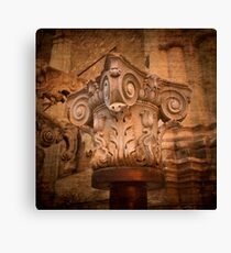 Composite capital Canvas Print