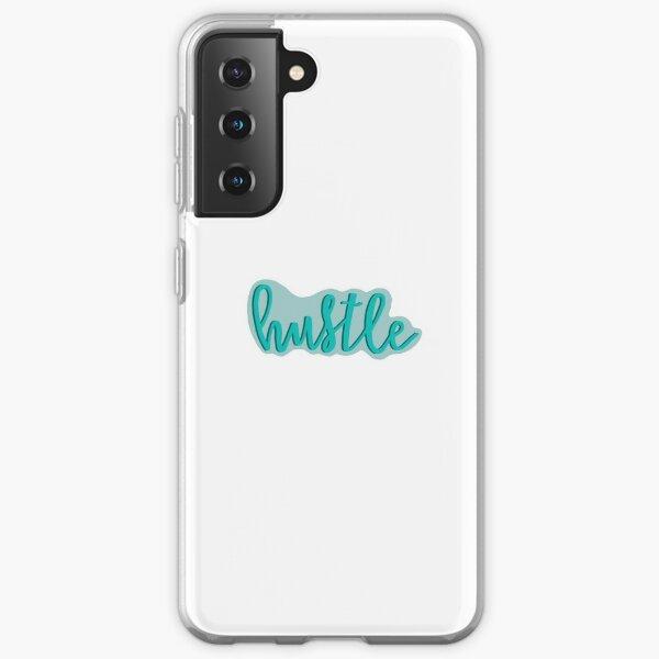 Hustle  -  Blue Samsung Galaxy Soft Case