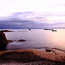 eastcoast sunrise. bicheno, tasmania by tim buckley   bodhiimages