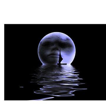 Moon by nishagandhi