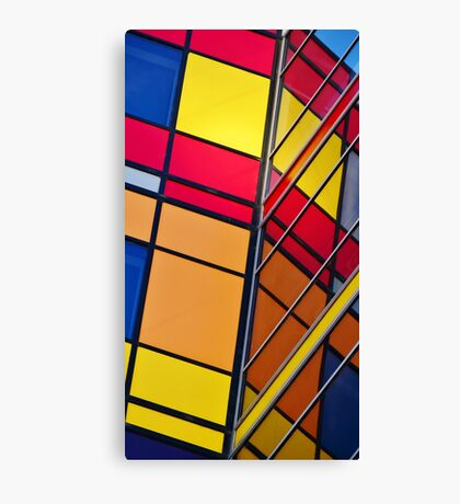 Banking on Colour Canvas Print