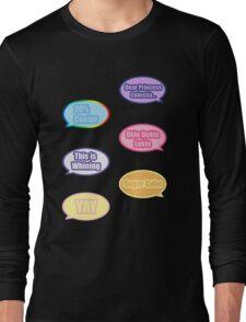 Pony Phrases Long Sleeve T-Shirt