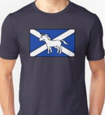 Unicorn, Scotland's National Animal Unisex T-Shirt