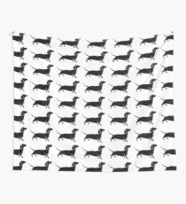 Connect The Doxie Dots Wall Tapestry