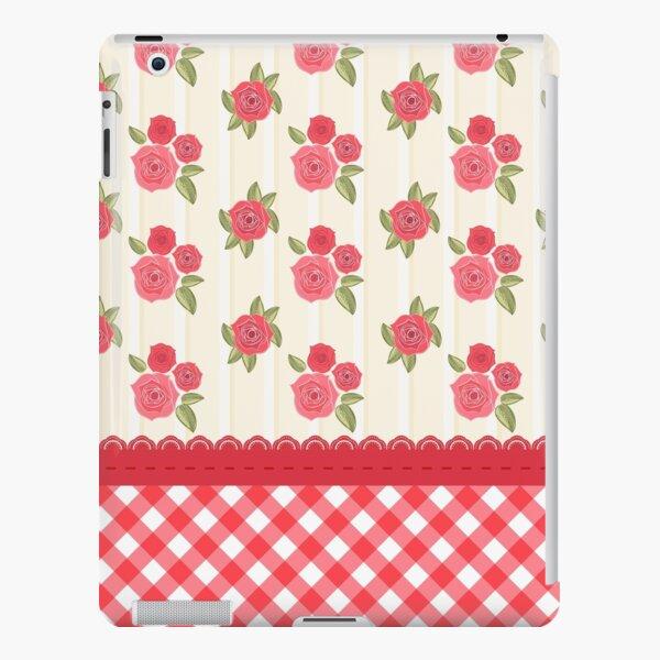 Beautiful Red Rose Shabby Wallpaper iPad Snap Case