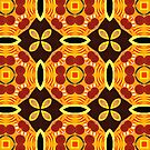 Sixties Abstract Pattern by Lisa V Robinson