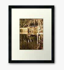 TURNED TO GOLD Framed Print