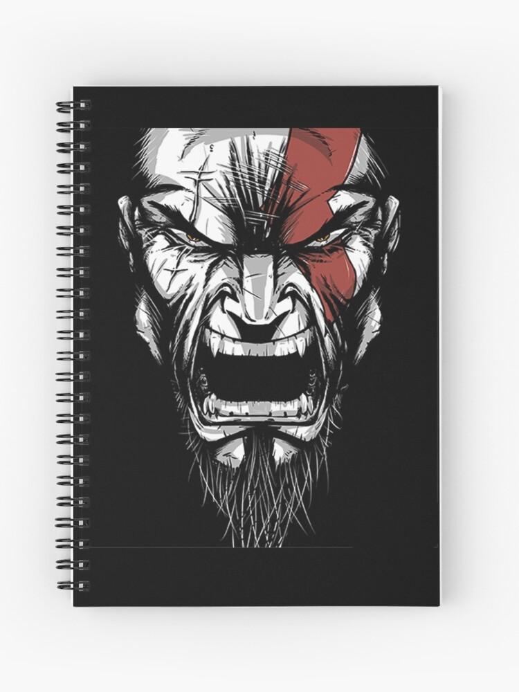 Kratos God Of War Spiral Notebook