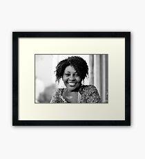 Brenda with Bible RO Framed Print