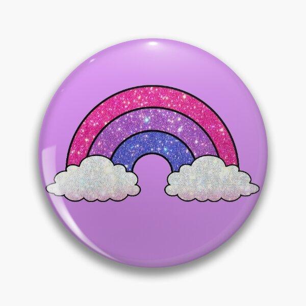 bi flag rainbow Pin