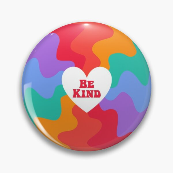 Be Kind Heart  Pin