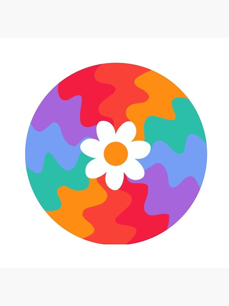 Wavy Flower by julietsart