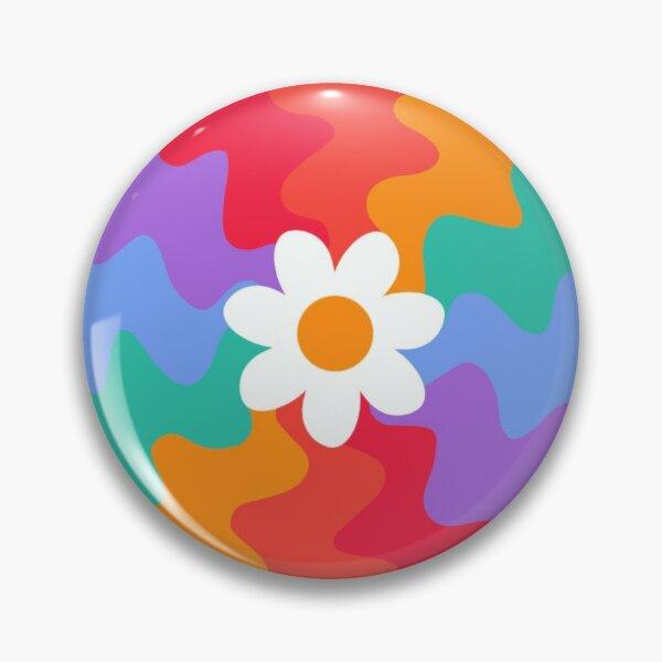 Wavy Flower Pin