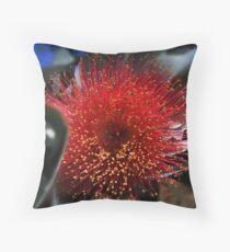 Eucalyptus Flower Throw Pillow