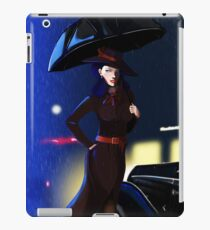 Rarity investigate pin-up iPad Case/Skin