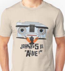 Johnny 5 ist lebendig! Slim Fit T-Shirt