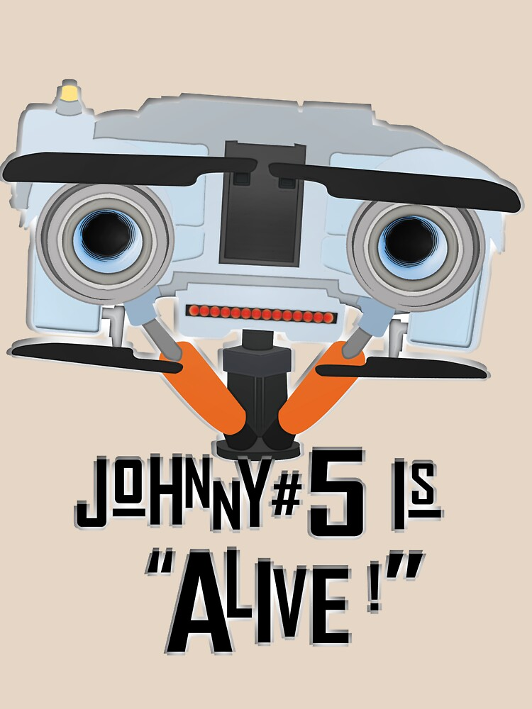Johnny 5 is ALIVE! by Steampunkd