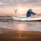 Row My Boat A Shore by ArtThatSmiles