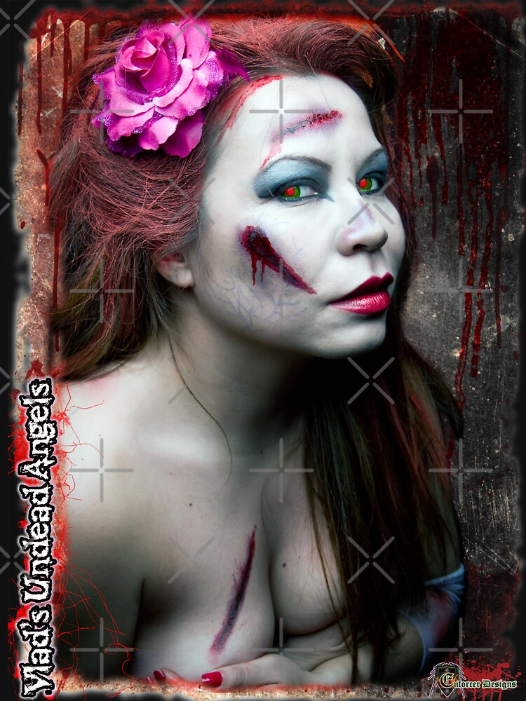 Live Undead Angels: Zombie Scarlet Cupid 2 by EnforcerDesigns