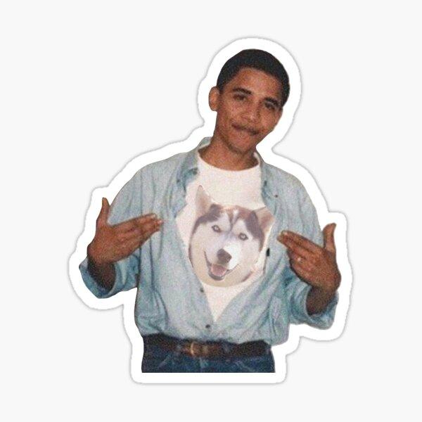 Obama Jonathan (UConn) Sticker