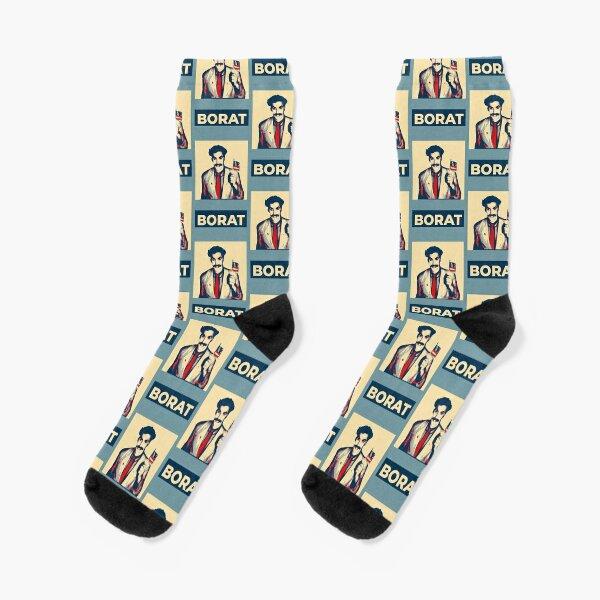 Borat for President Socks