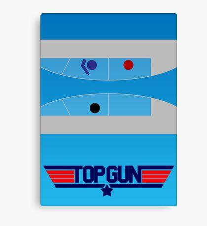 Top Gun - Minimal Poster Canvas Print