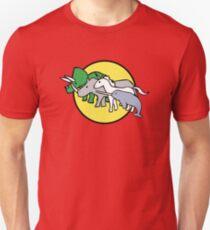 Camiseta ajustada Amigos de guerreros de cuernos