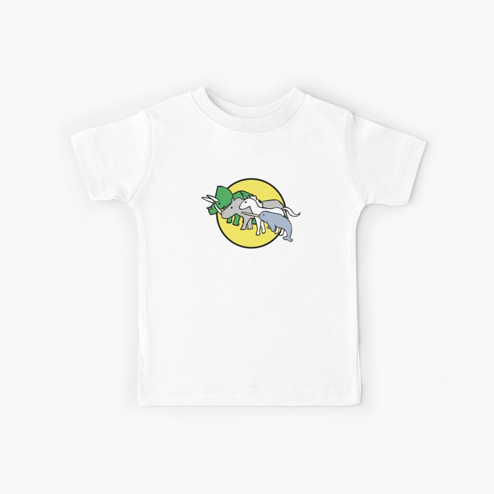 Gehörnte Kriegerfreunde Kinder T-Shirt