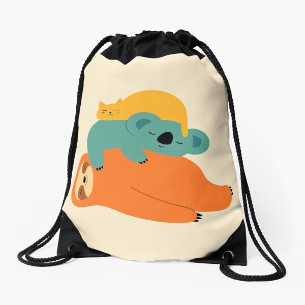 Being Lazy Drawstring Bag