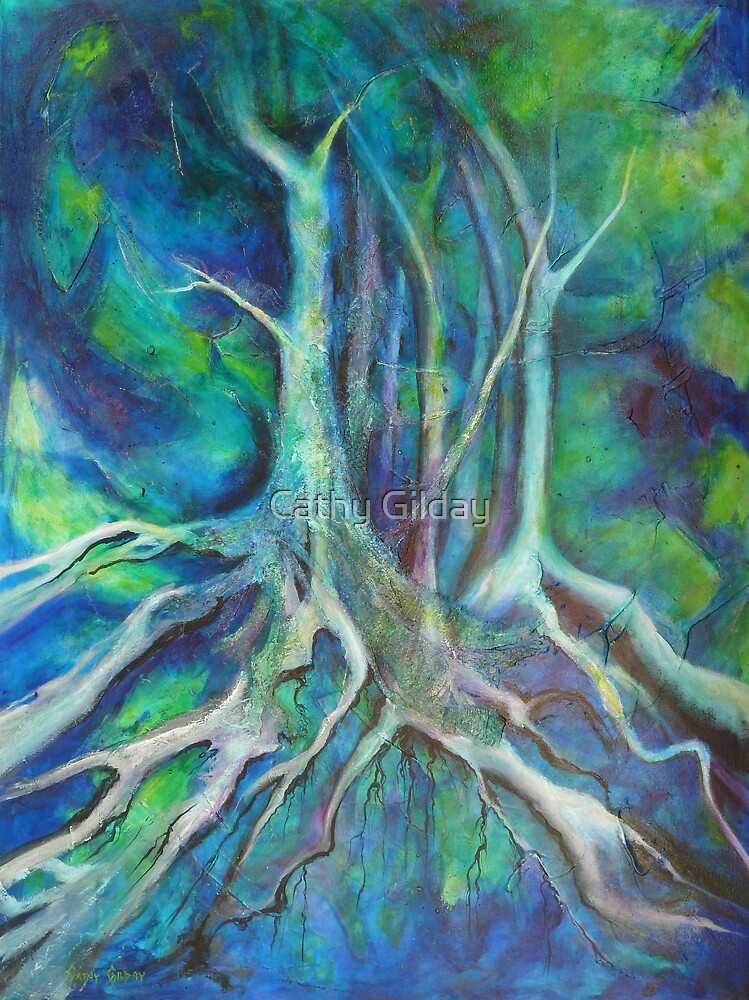 Blue Exposure by Cathy Gilday