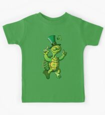 Saint Patrick's Day Turtle Kids Tee