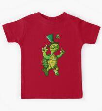 Saint Patrick's Day Turtle Kids Tee