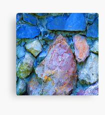 Blue Rocks Canvas Print