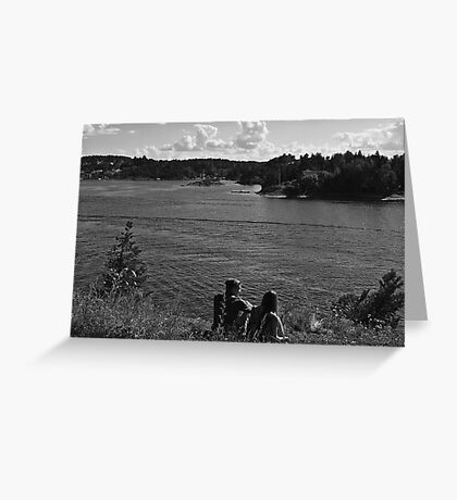 Romancing the Fjords Greeting Card